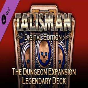 Talisman The Dungeon Expansion Legendary Deck