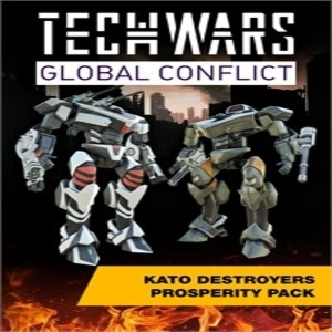 Techwars Global Conflict KATO Destroyers Prosperity Pack