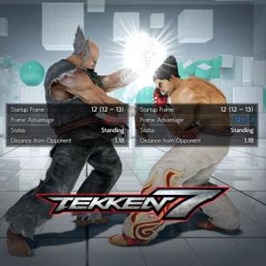 TEKKEN 7 DLC13 Frame Data Display