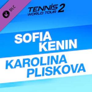 Tennis World Tour 2 Sofia Kenin & Karolina Pliskova
