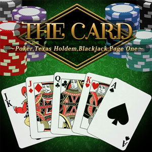 THE Card Poker, Texas hold 'em, Blackjack and Page One