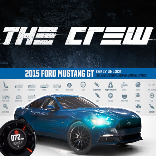 Buy The Crew 2015 Ford Mustang GT Fastback Street Edition CD Key Compare Prices