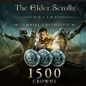 The Elder Scrolls Online Tamriel Unlimited 1500 Crowns