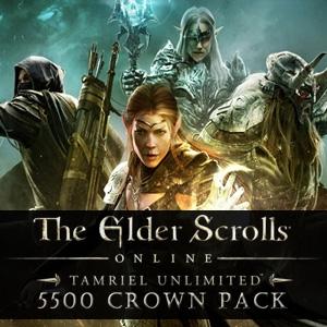 The Elder Scrolls Online Tamriel Unlimited 5500 Crown Pack