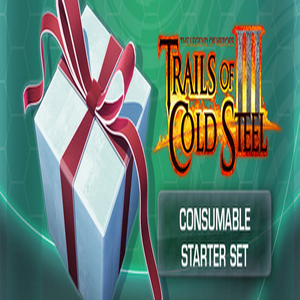The Legend of Heroes Trails Of Cold Steel 3 Consumable Starter Set