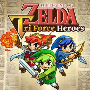 Buy The Legend of Zelda Tri Force Heroes Nintendo 3DS Download Code Compare Prices