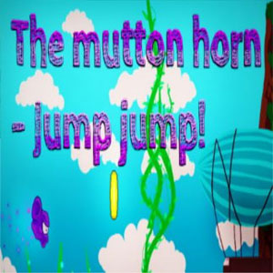The mutton horn Jump jump