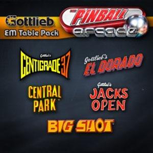 The Pinball Arcade Gottlieb EM Table Pack