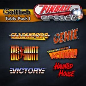 The Pinball Arcade Gottlieb Table Pack 1
