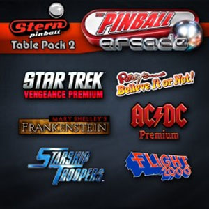 The Pinball Arcade Stern Table Pack 2