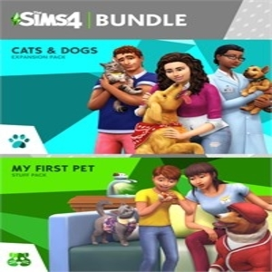 The Sims 4 Cats and Dogs Plus My First Pet Stuff Bundle