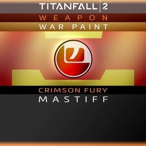 Titanfall 2 Crimson Fury Mastiff