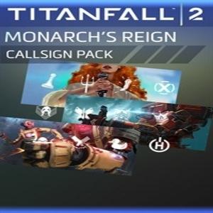 Titanfall 2 Monarchs Reign Callsign Pack