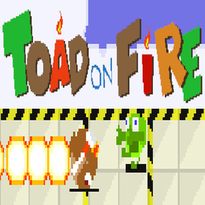 Toad On Fire