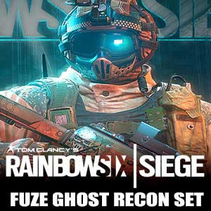 Tom Clancys Rainbow Six Siege Fuze Ghost Recon Set