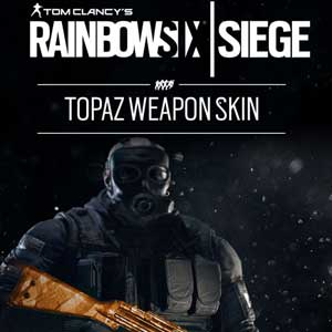Tom Clancys Rainbow Six Siege Topaz Weapon Skin