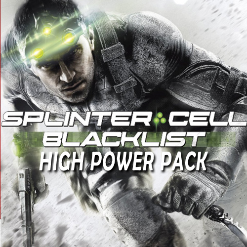 Buy Tom Clancys Splinter Cell Blacklist High Power Pack CD Key Compare Prices