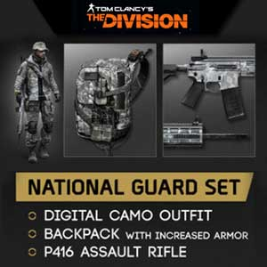Tom Clancys The Division National Guard Gear Set