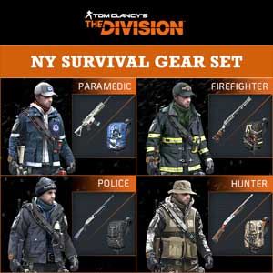 Tom Clancys The Division NY Survival Gear Set