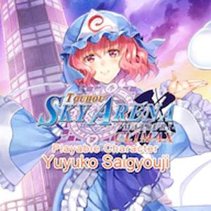 Touhou Sky Arena Playable Character Yuyuko Saigyouji
