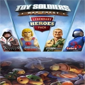 Toy Soldiers War Chest Legendary Heroes Pack