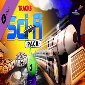 Tracks The Train Set Game Sci-Fi Pack