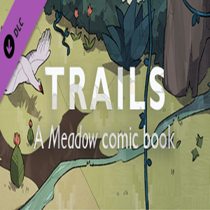 Trails A Meadow comic book