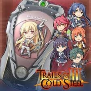Trails of Cold Steel 3 ARCUS Cover Set D