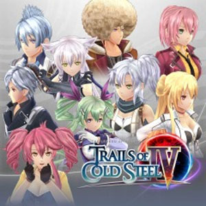 Trails of Cold Steel 4 Hair Extension Set
