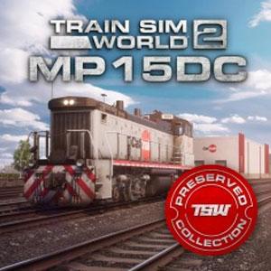 Train Sim World 2 Caltrain MP15DC Diesel Switcher