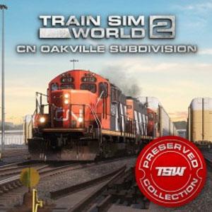 Train Sim World 2 Canadian National Oakville Subdivision Hamilton-Oakville