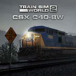 Train Sim World 2 CSX C40-8W