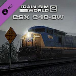 Train Sim World 2 CSX C40-8W