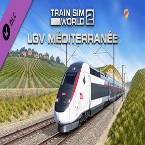 Train Sim World 2 LGV Mediterranee Marseille Avignon Route Add-On