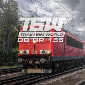 Train Sim World DB BR 155 Loco Add-On