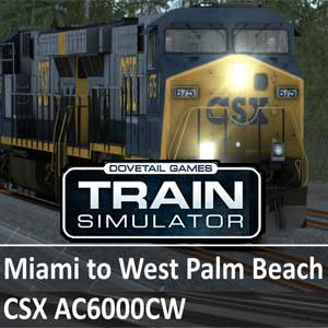 Train Simulator CSX AC6000CW Loco Add-On