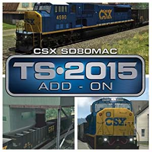Buy Train Simulator CSX SD80MAC Loco Add-On CD Key Compare Prices