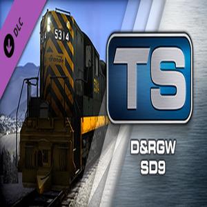 Train Simulator D and RGW SD9 Loco Add On