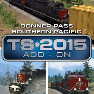 Train Simulator Donner Pass Southern Pacific Route Add-On
