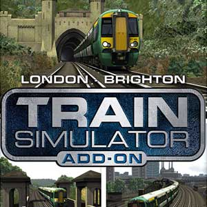 Train Simulator London to Brighton Route