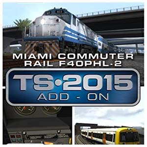 Train Simulator Miami Commuter Rail F40PHL-2 Loco Add-On