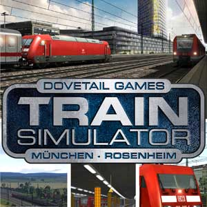 Train Simulator Munich Rosenheim Route Add-On
