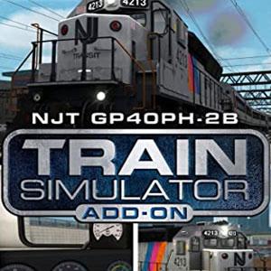 Train Simulator NJ TRANSIT GP40PH-2B Loco Add-On
