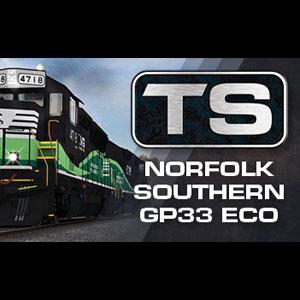 Train Simulator Norfolk Southern GP33 ECO Loco Add-On