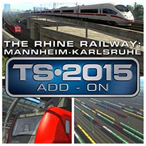 Buy Train Simulator The Rhine Railway Mannheim Karlsruhe Route Add-On CD Key Compare Prices