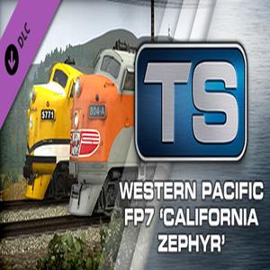 Train Simulator Western Pacific FP7 California Zephyr Loco Add On