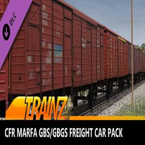 Trainz 2019 CFR Marfa Gbs/Gbgs freight car pack