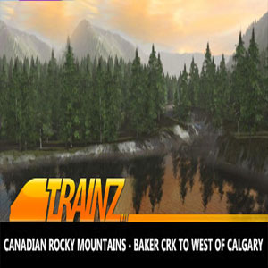 Trainz 2019 DLC Canadian Rocky Mountains Baker Crk to West of Calgary