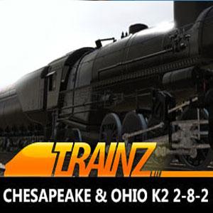 Trainz 2019 DLC Chesapeake & Ohio K2 2-8-2