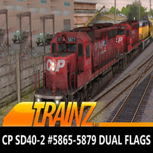 Buy Trainz 2019 DLC CP SD40-2 #5865-5879 Dual Flags CD Key Compare Prices